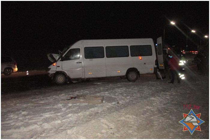 ДТП с участием маршрутки со школьниками из Иваново