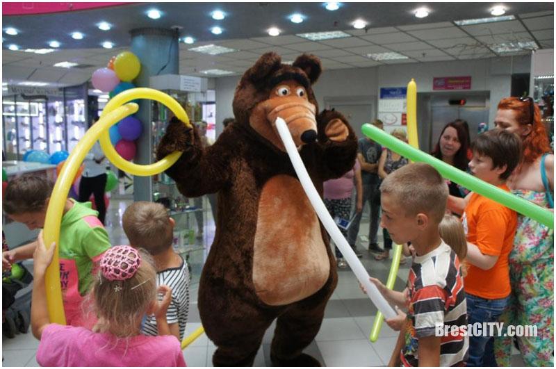 Праздник для детей в ТЦ Миллионный