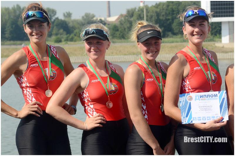 Чемпионат Беларуси по гребле в Бресте 9-12 августа 2017