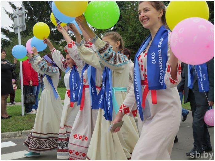 Районные дожинки в Беловежском