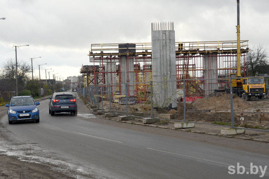 Снос дома на ул.Поплавского в Бресте