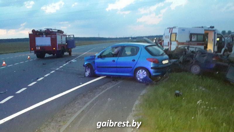Авария в Барановичском районе