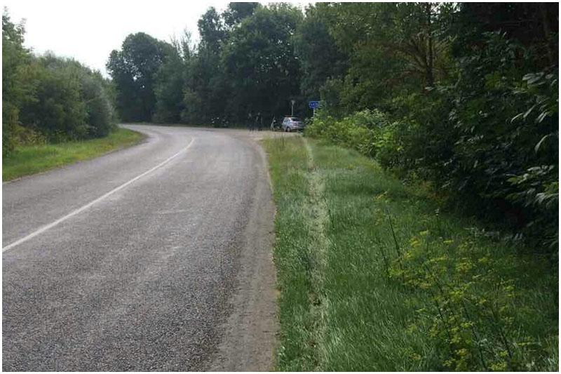 В Ивацевичском районе разбился мотоциклист