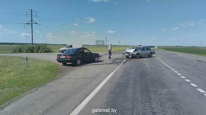 Авария в Кобринском районе 30 июня