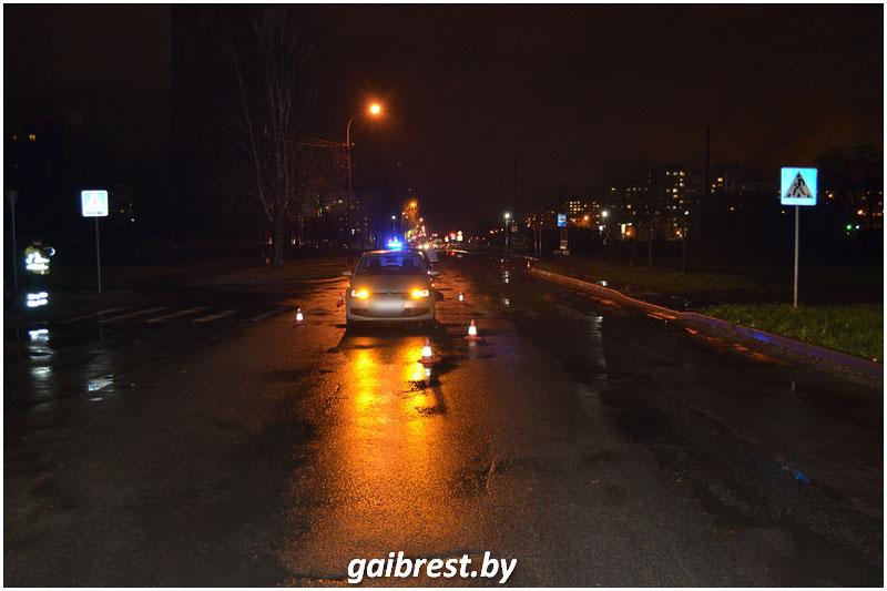 Авария на Орловской в Бресте