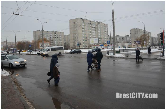 Наезд на пешехода на улице Суворова