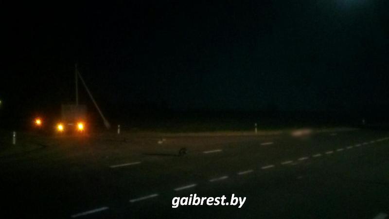 Авария. Мотоцикл Сузуки