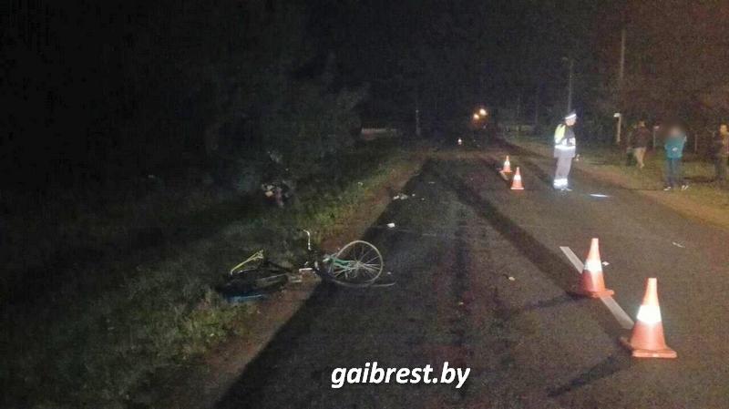В Каменецком районе насмерть сбили велосипедиста