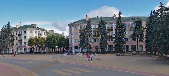 Как будет выглядеть площадь Ленина после удаления старых деревьев