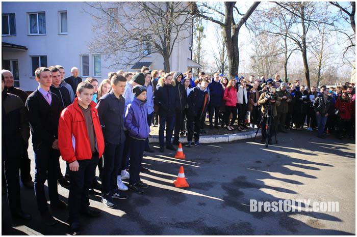 Эвакуация в областном училище олимпийского резерва