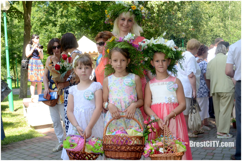 Итоги фестиваля цветов в Бресте