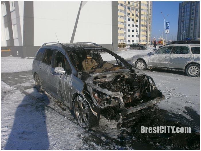 Пожары в Бресте с начала 2017 года
