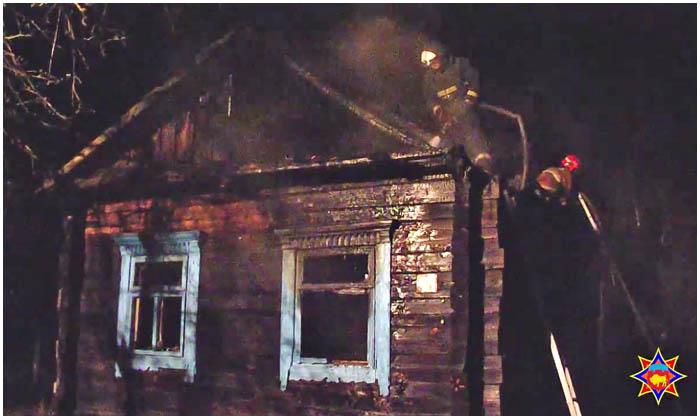 Пожар в Ивановском районе Брестской области