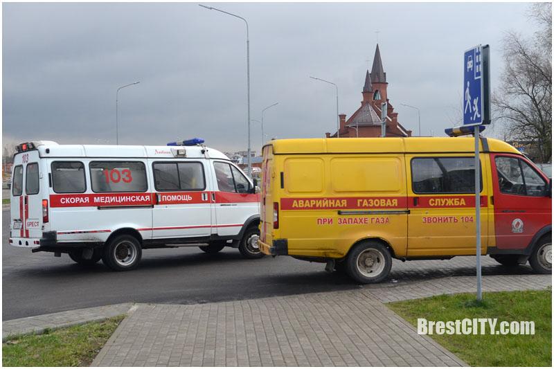 Пожар в новостройке по улице Луцкой в Бресте