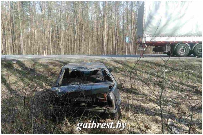 Авария с участием фуры возле Бреста