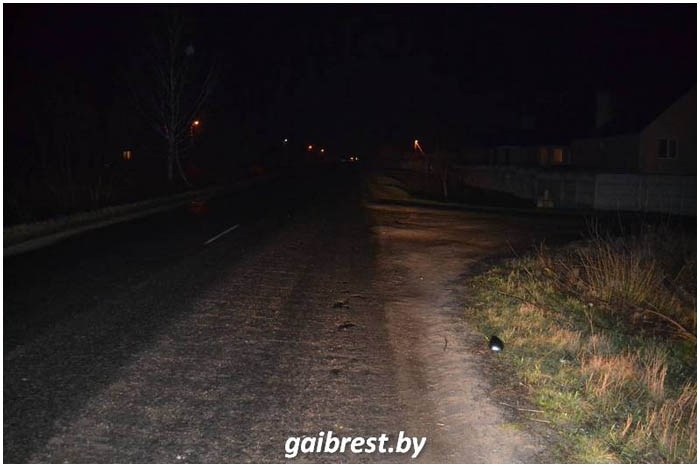 Сбили пешехода в Мотыкалах