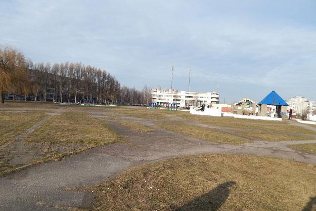 Бывший детский городок на ул.Гаврилова в Бресте