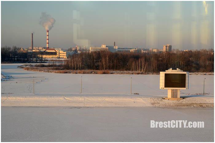 Зимний Гребной в Бресте. Фото BrestCITY.com