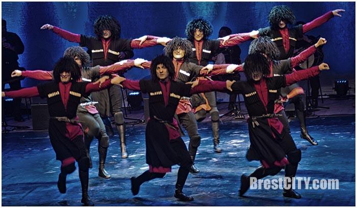 Национальны балет Грузии в Бресте