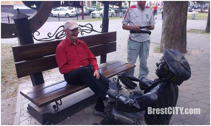 Делегация из польского Хэлма в Бресте