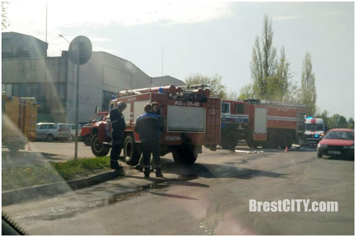 ЧП на химзаводе в Бресте