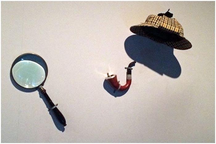 Сыщик Холмс. Трубка, лупа, шляпа