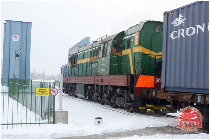 Сканер-рентген для поездов открыт в Бресте