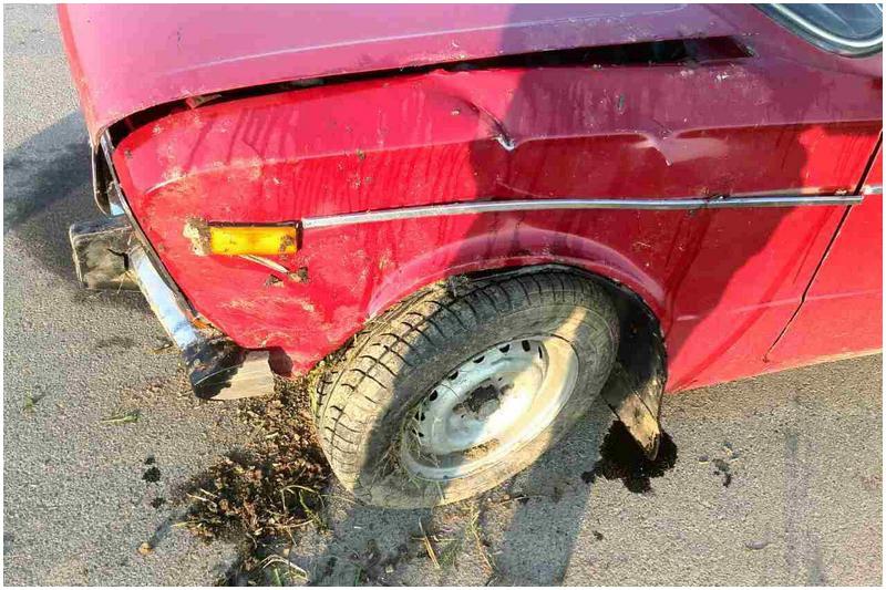 Жигули. Авария в Курнице возле Бреста