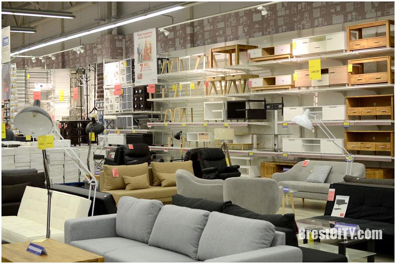 Магазин Юск в Бресте