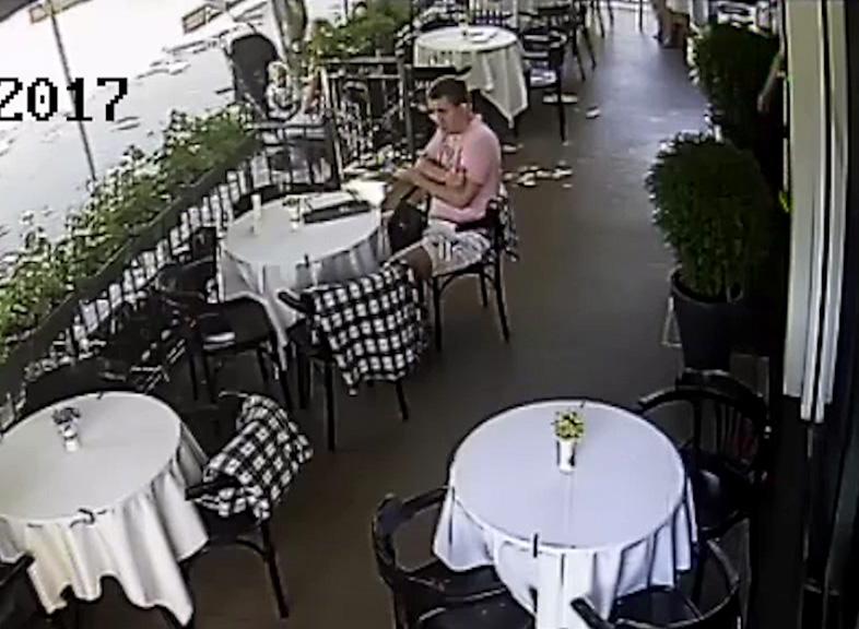 Милиция разыскивает посетителя кафе на Советской в Бресте