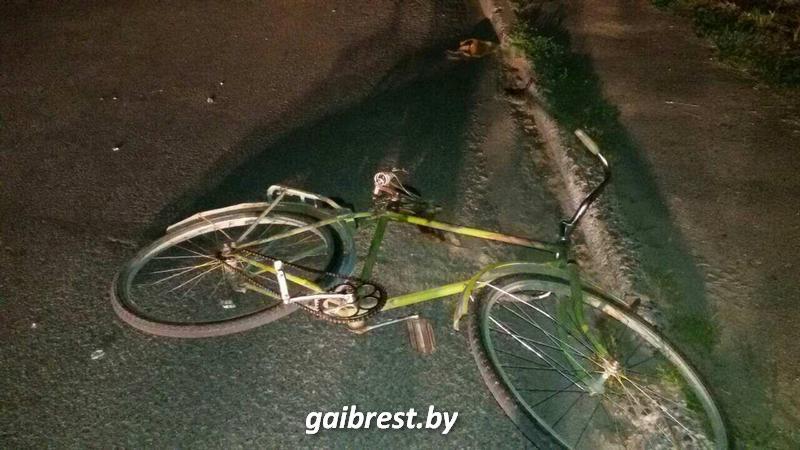 Авария в Каменце с участием велосипедиста