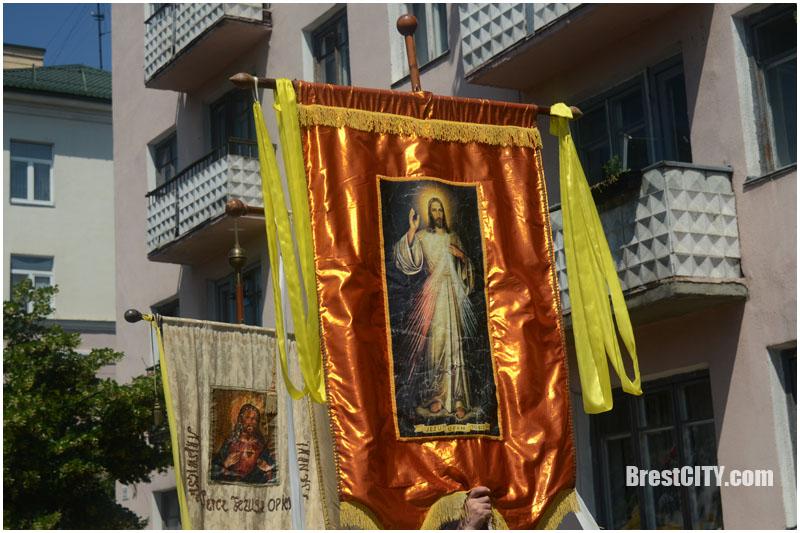 Шествие католиков в Бресте 18 июня 2017. Фото BrestCITY.com