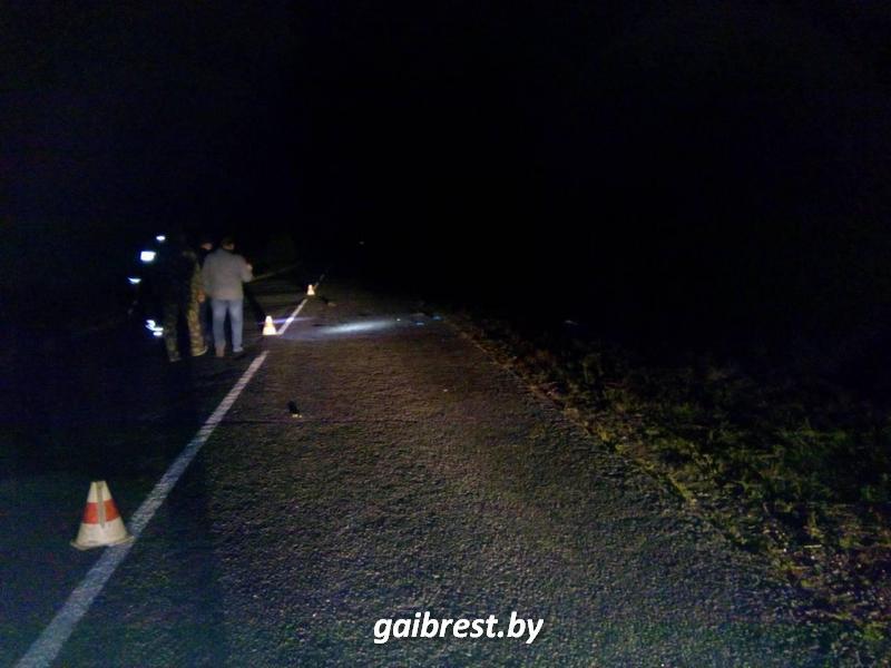 Сбили пешехода в Кобринском районе