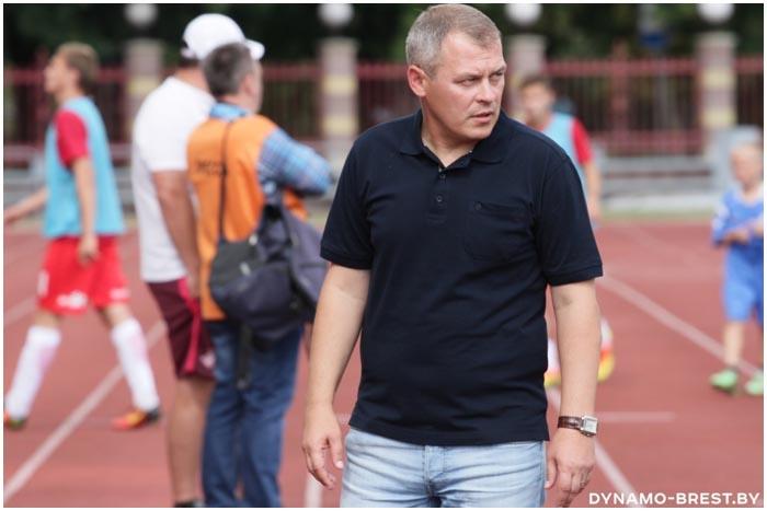 Спортивный директор клуба Динамо Брест