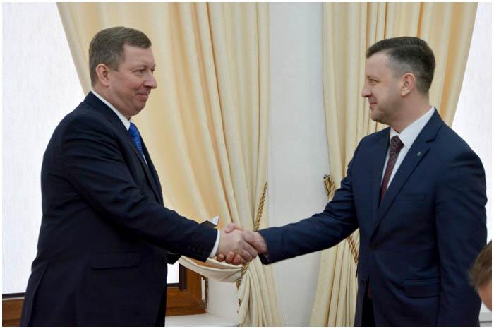 Вадим Кравчук - заместитель председателя Брестского горисполкома