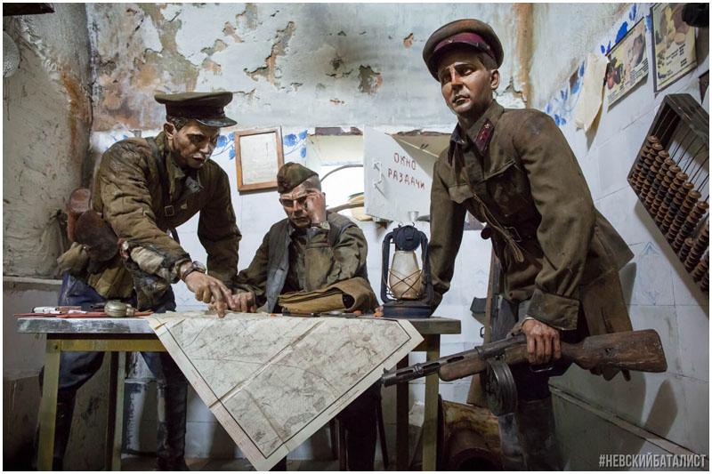 Трехмерная панорама Герои Брестской крепости