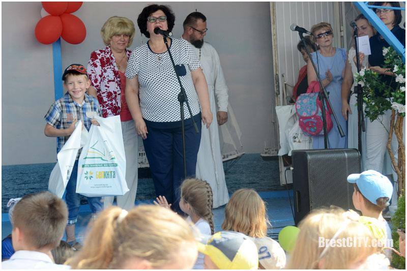 Соберем портфель в школу. Лагуна. Брест. Фото BrestCITY.com