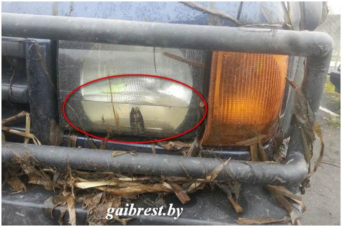 Брестчанин на джипе вылетел в мелиоративный канал