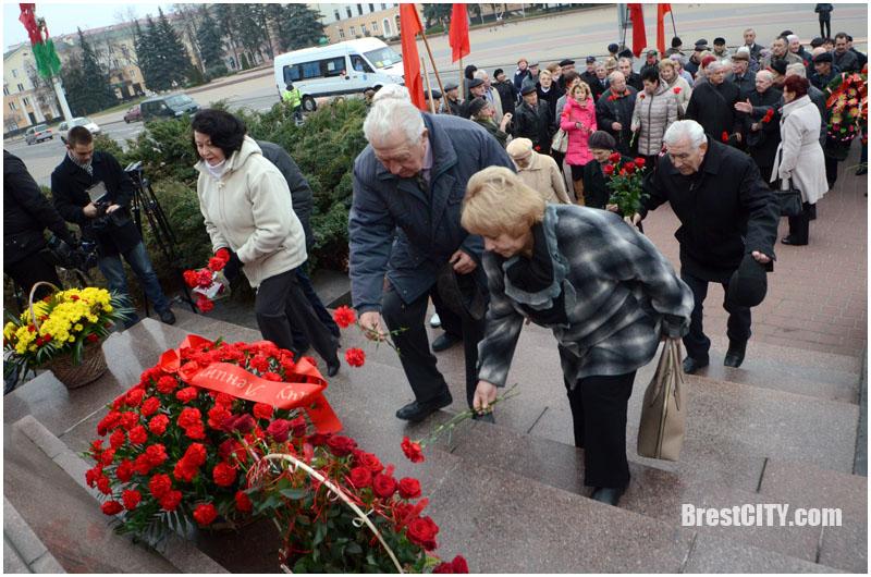 100 лет Октябрьской революции в Бресте