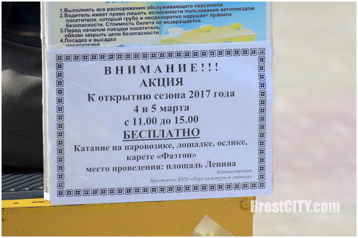Карета фаэтон на площади Ленина