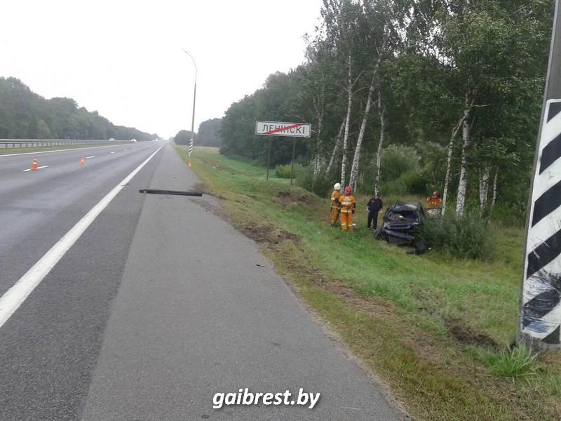 Авария в поселке Ленинский