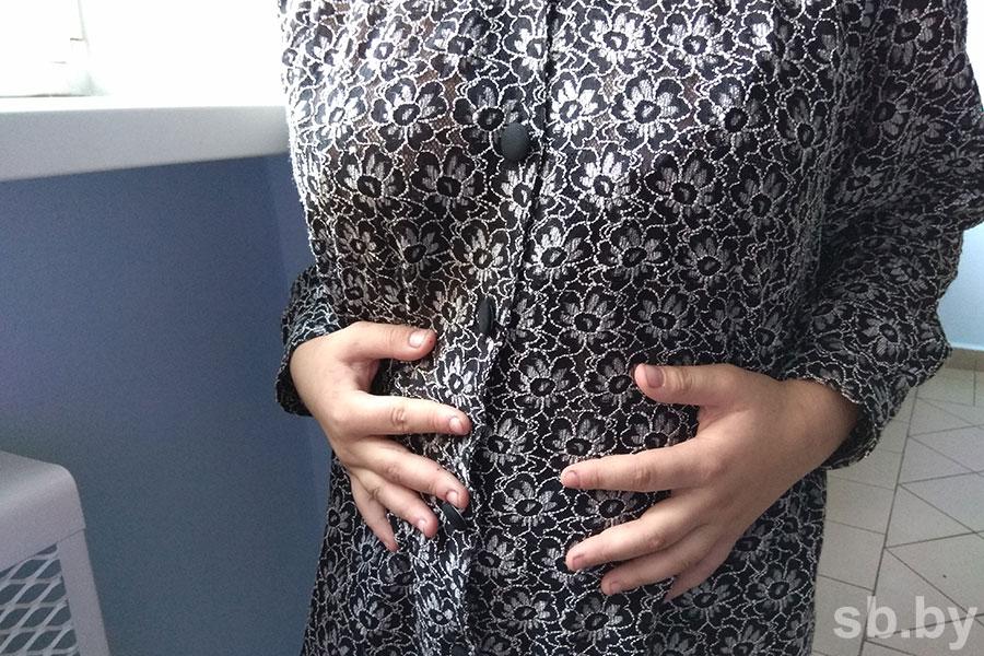 Беременная школьница