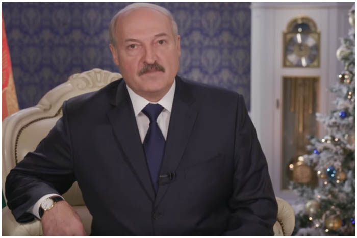 Лукашенко поздравил белорусов с Новым годом