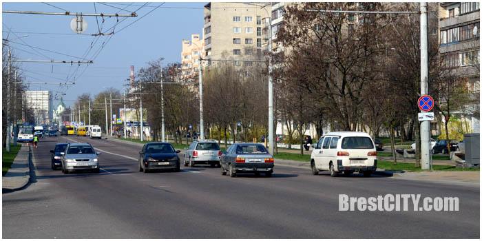 Изменен скоростной режим в районе МОПра