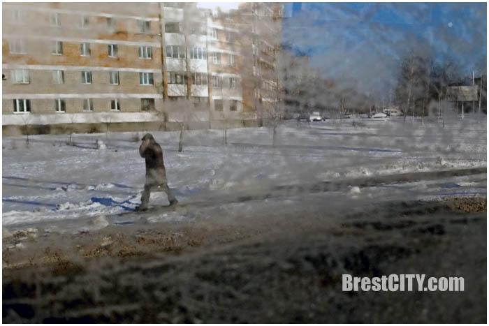 Мороз в Бресте. Фото BrestCITY.com