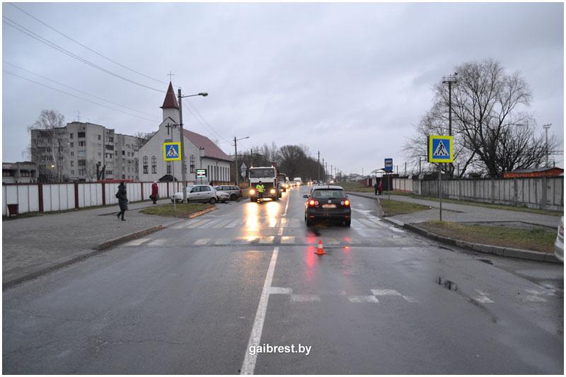 Авария в Бресте на Мошенского