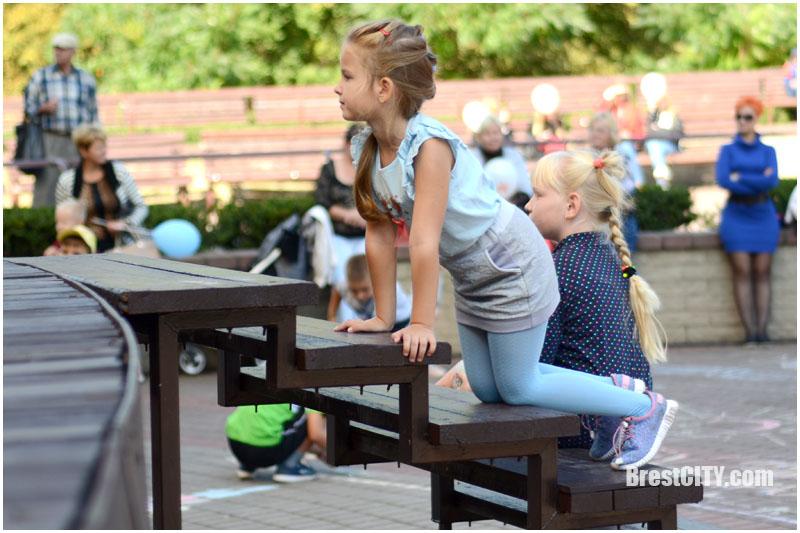 Благотворительная акция в парке