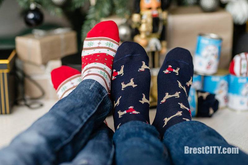 Носки к новому году