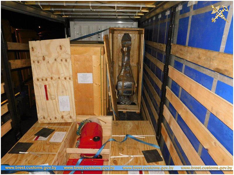Две партии дорогостоящего оборудования из Нидерландов задержаны на границе