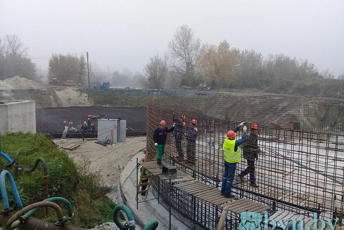Реконструкция очистных в Бресте